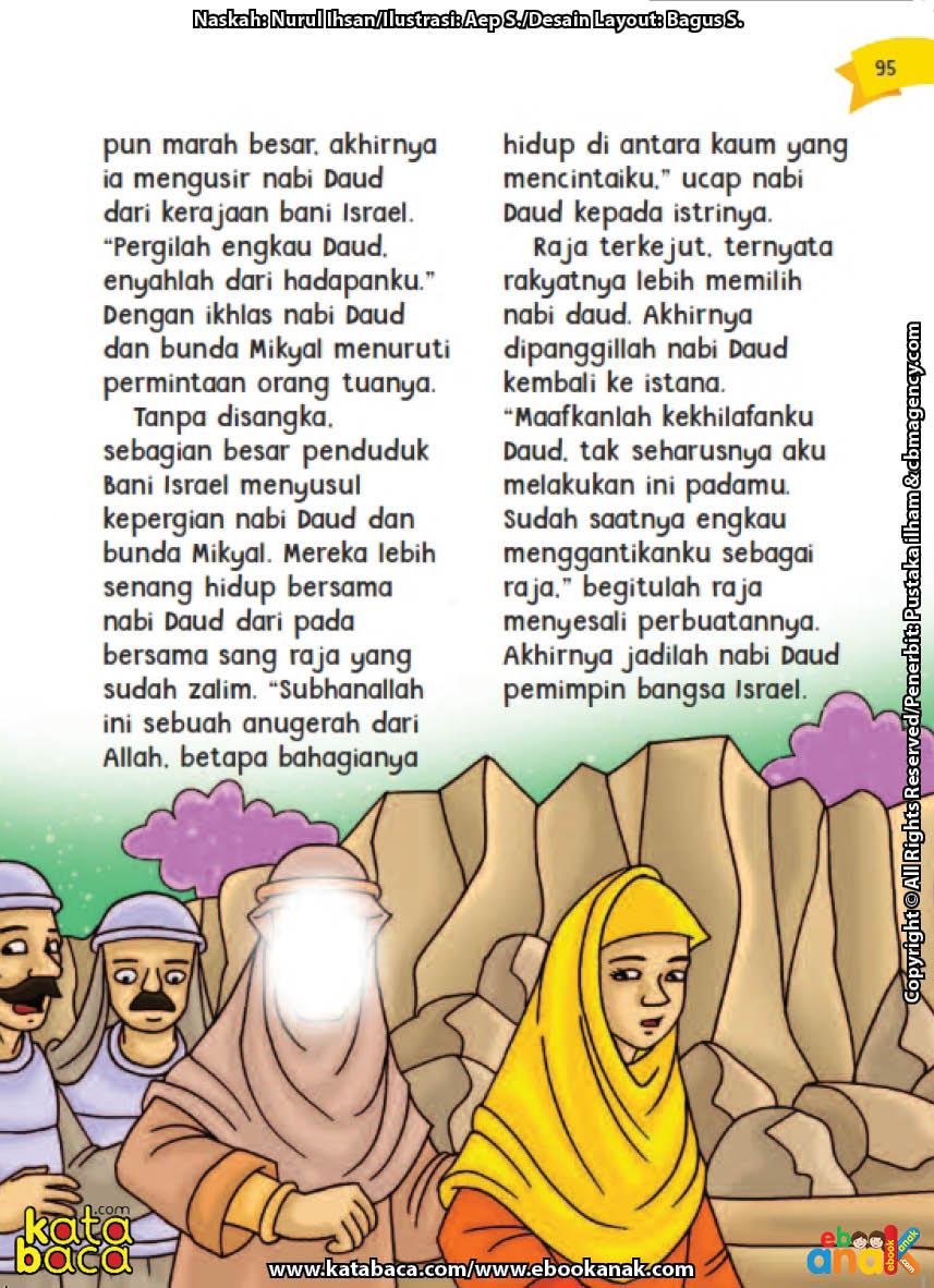 baca buku online aku cinta rasul kisah teladan 25 nabi dan rasul jilid 420 Kenapa Nabi Daud Dipanggil Kembali ke Istana Raja Bani Israel