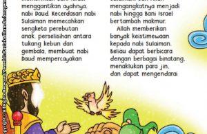 baca buku online aku cinta rasul kisah teladan 25 nabi dan rasul jilid 423 Inilah Alasan Nabi Daud Menyerahkan Kerajaannya kepada Nabi Sulaiman