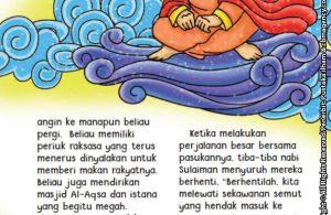 baca buku online aku cinta rasul kisah teladan 25 nabi dan rasul jilid 424 Periuk Nabi Sulaiman untuk Memberi Makan Rakyatnya