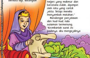 baca buku online aku cinta rasul kisah teladan 25 nabi dan rasul jilid 425 Nabi Sulaiman Tidak Jadi Menghukum Burung Hud Hud