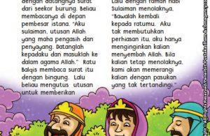 baca buku online aku cinta rasul kisah teladan 25 nabi dan rasul jilid 426 Kenapa Nabi Sulaiman Menolak Hadiah Pemberian Ratu Balqis