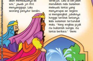 baca buku online aku cinta rasul kisah teladan 25 nabi dan rasul jilid 427 Bagaimana Cara Nabi Sulaiman Memindahkan Istana Ratu Balqis dalam Sekejap Mata