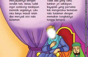 baca buku online aku cinta rasul kisah teladan 25 nabi dan rasul jilid 428 Benarkah Nabi Sulaiman Wafat sambil Berdiri Mengawasi Para Jin Bekerja