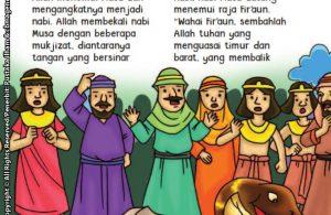 baca buku online aku cinta rasul kisah teladan 25 nabi dan rasul jilid 43 Ketika Nabi Musa Memperlihatkan Tangannya yang Bersinar kepada Firaun