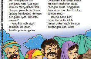 baca buku online aku cinta rasul kisah teladan 25 nabi dan rasul jilid 53 Bani Israel Membujuk Pengikut Nabi Ilyas dengan Makanan Enak