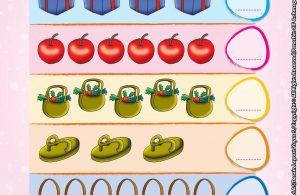 baca buku online brain games calistung33 Menghitung Jumlah Gambar dan Menulis Lambang Bilangannya