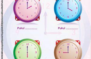 baca buku online brain games calistung42 Belajar Waktu dengan Menuliskan Tanda Waktunya