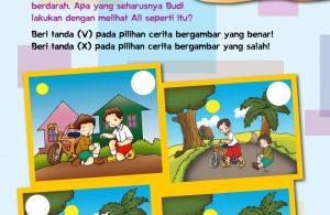 baca buku online, buku aktivitas anak jenius TK A B_005 anak jenius senang menolong