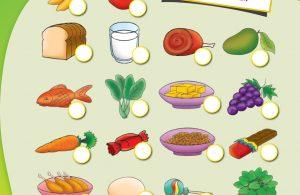 baca buku online, buku aktivitas anak jenius TK A B_039 mengenal makanan sehat dan makanan tidak sehat