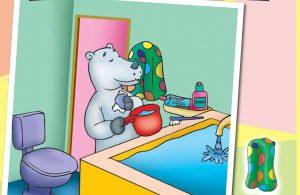baca buku online, buku aktivitas anak jenius TK A B_040 mengenal peralatan mandi