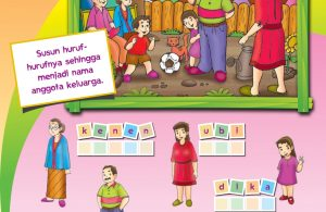 baca buku online, buku aktivitas anak jenius TK A B_041 Mengenal Nama-Nama Keluarga