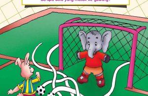 baca buku online, buku aktivitas anak jenius TK A B_054 bermain sepak bola