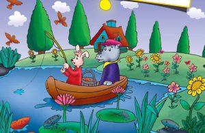 baca buku online, buku aktivitas anak jenius TK A B_061 mengenal nama-nama bunga