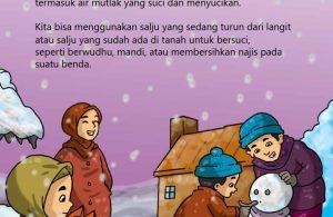 baca buku online, fiqih islam bergambar jilid 1_006 air es atau salju