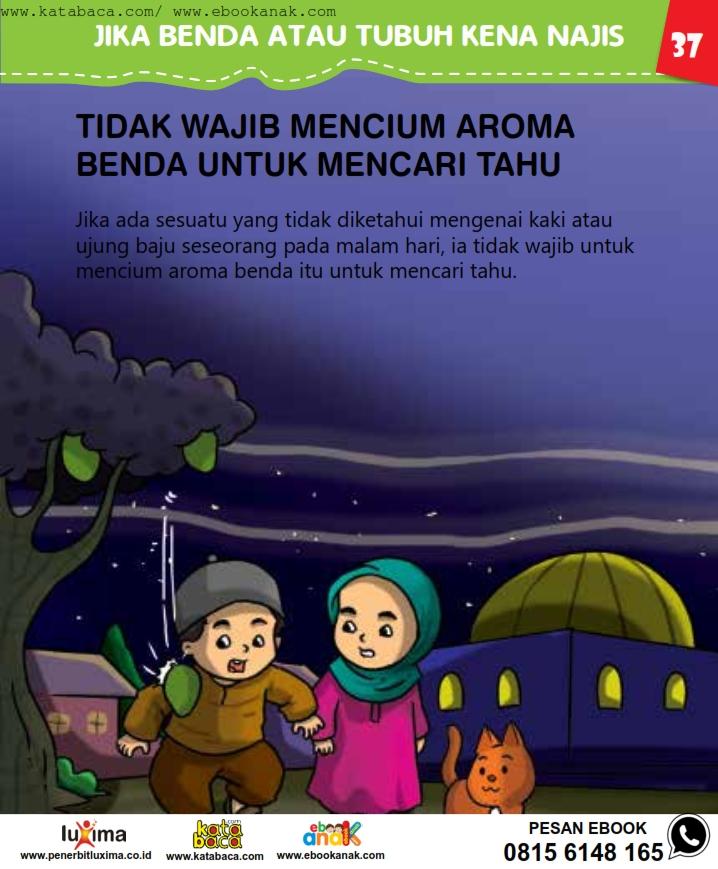 baca buku online, fiqih islam bergambar jilid 1_041 Hukum Mencium Aroma Benda untuk Mencari Tahu