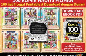 baner 100 komik hadits pilihan untuk anak