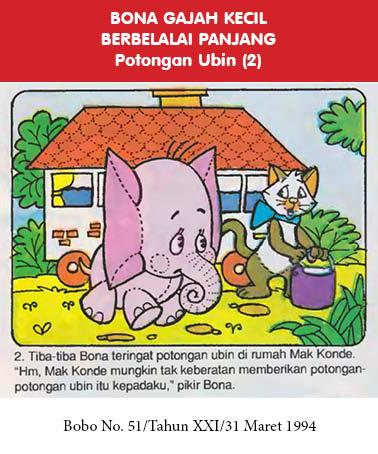 bona gajah kecil berbelalai panjang, potongan ubin2