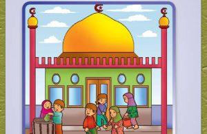buku pintar anak shaleh, Mengenal Masjid (18)