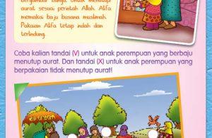 buku pintar anak shaleh, Menutup Aurat (12)