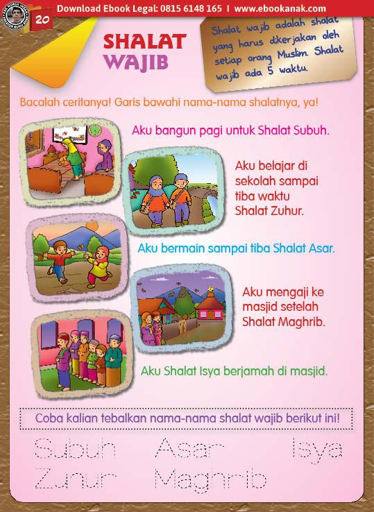 buku pintar anak shaleh, Shalat Wajib (20)