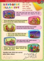 buku pintar anak shaleh, Sifat-Sifat Allah SWT (3)