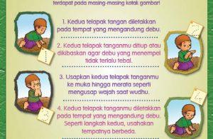 buku pintar anak shaleh, Tata Cara Tayamum (17)