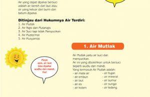cara praktis belajar shalat for kids, Air Bersuci (2)