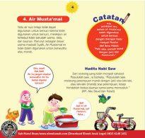 cara praktis belajar shalat for kids, Air Mustamal (4)
