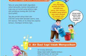 cara praktis belajar shalat for kids, Air Najis dan Mutanajis (3)