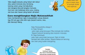 cara praktis belajar shalat for kids, Cara Menghilangkan Najis Mutawasitha (9)