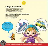 cara praktis belajar shalat for kids, Yang Termasuk Najis Mukhaffafah (8)