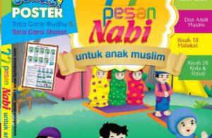 cover ebook pdf 77 pesan nabi untuk anak muslim