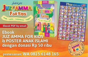 donasi juz amma for kids dan poster anak islam