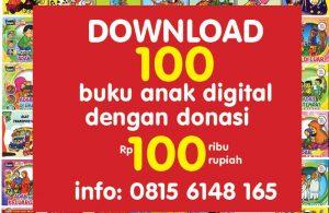 download 100 buku anak digital dengan 100 ribu rupiah