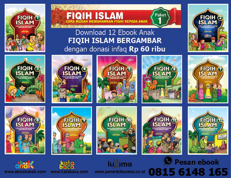 download 12 ebook fiqih islam bergambar for kids