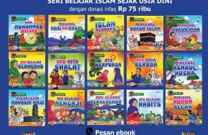 download 15 ebook seri belajar islam sejak usia dini dengan donasi infaq