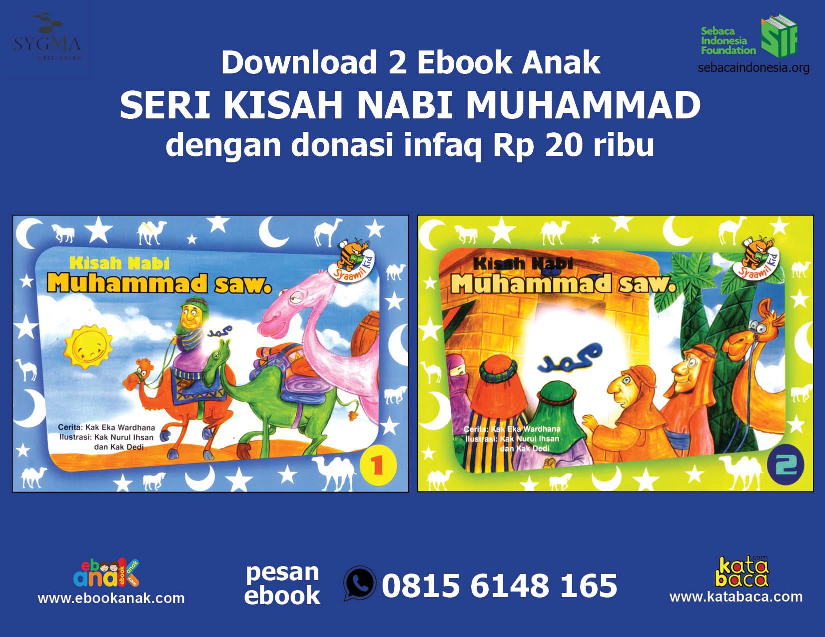 download 2 ebook seri kisah nabi muhammad