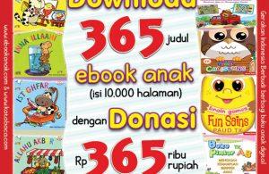 download 365 ebook anak dengan donasi 365 ribu rupiah