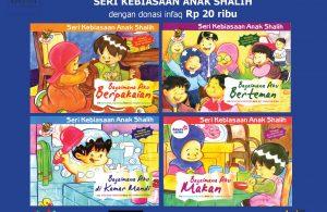 download 4 ebook seri kebiasaan anak shalih dengan infak donasi