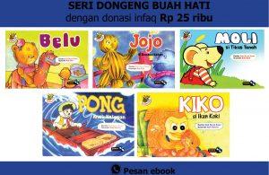 download 5 ebook anak seri dongeng buah hati dengan donasi
