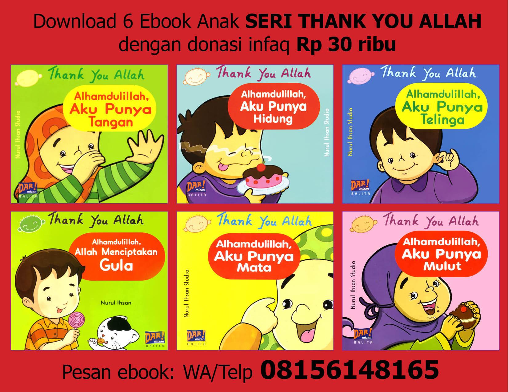 download 6 ebook seri thank you allah dengan donasi infaq