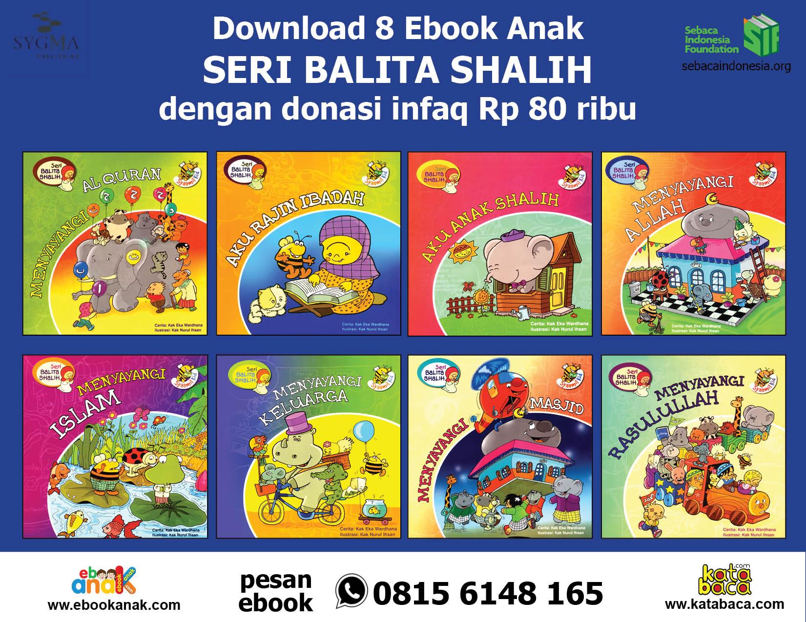 download 8 ebook seri balita shalih