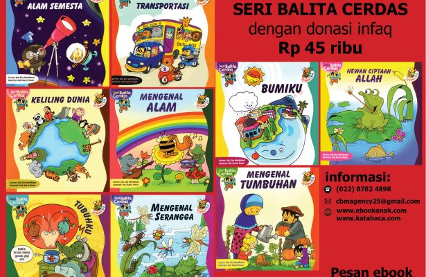 download 9 ebook anak seri balita cerdas dengan donasi infaq