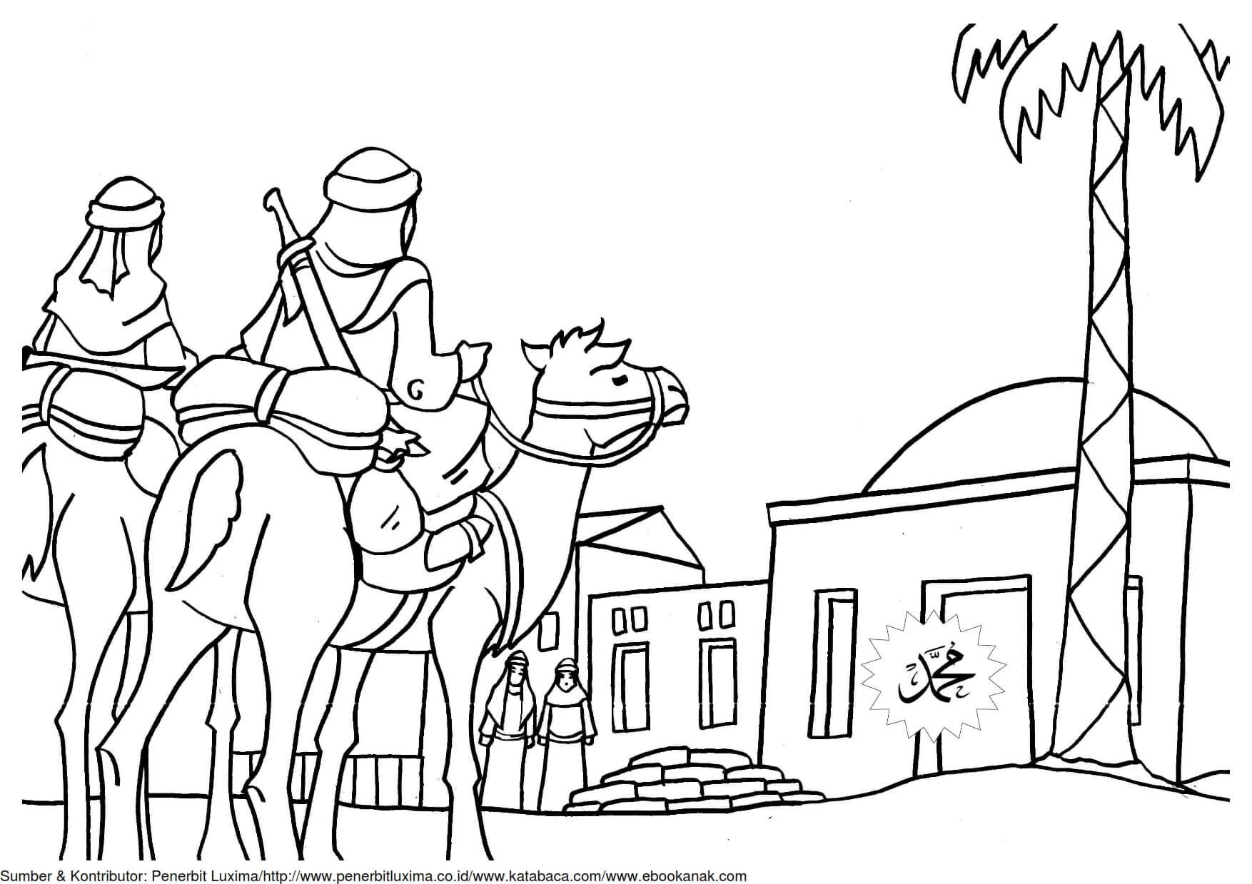 Dan Mewarnai Gambar Khalid Bin Walid 18 Ebook Anak