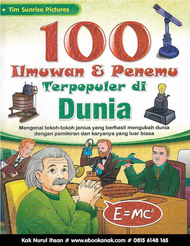 Ebook PDF: 100 Ilmuwan dan Penemu Terpopuler di Dunia