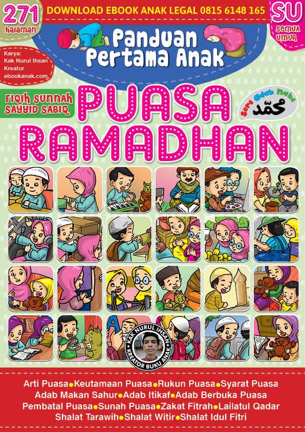 ebook panduan pertama anak puasa ramadhan