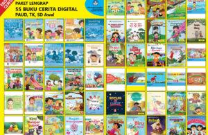 ebook pdf paket 55 buku cerita paud tk sd awal
