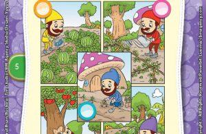 Ebook Komik Nilai-Nilai Karakter Bangsa: Lima Kurcaci Pemalas (5)