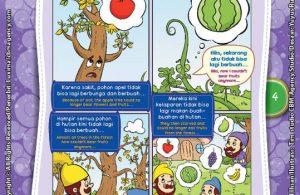 Ebook Komik Nilai-Nilai Karakter Bangsa: Lima Kurcaci Pemalas (4)