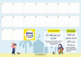 lembar aktivitas ramadhan, Kalender Kegiatan Harian (3)